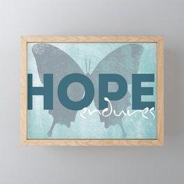 Hope Quote Framed Mini Art Print