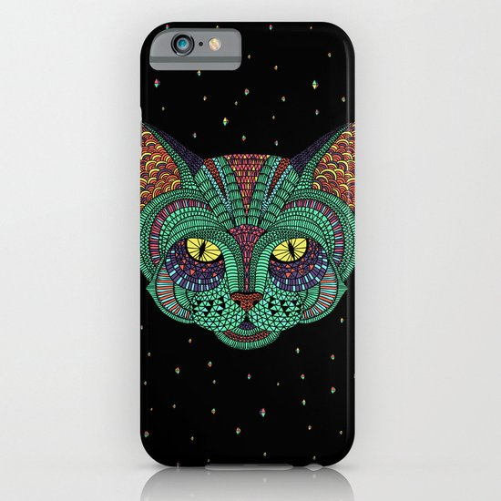 Intergalactic Cat iPhone & iPod Case