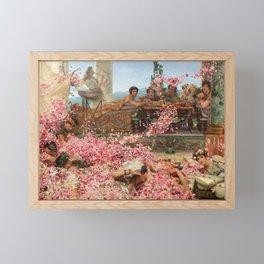 The Roses of Heliogabalus Framed Mini Art Print