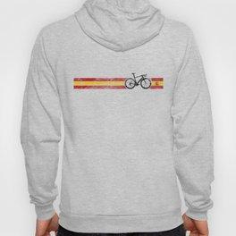 Cyclist Flag Spain Spanish ES  Bike Race Cycling Black Hoody