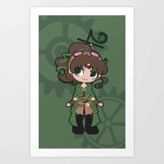 Steampunk Sailor Jupiter Art Print