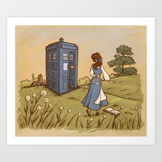 Adventure in the Great Wide Somewhere Art Print
