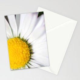Slightly cropped white daisy Stationery Cards