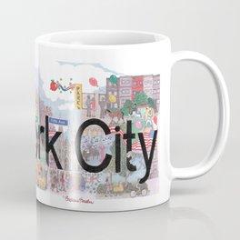 New York City - CityScapes by Stephanie Hessler Coffee Mug