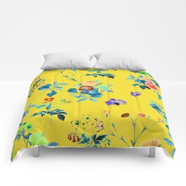 Floral Shower || #society6 #decor #buyart Comforters