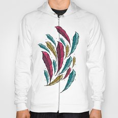 Feather Leaves Hoody