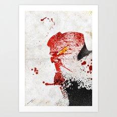Evil-Boy Art Print