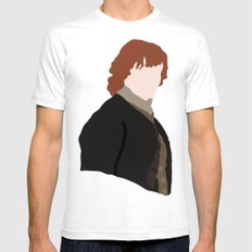 Jamie Fraser Mens Fitted Tee White SMALL