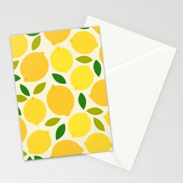 Lemon Stationery Cards