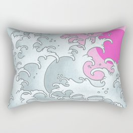Tas can go to the beach Rectangular Pillow