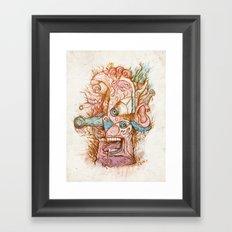 Mal de teté - the print Framed Art Print
