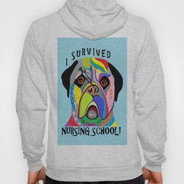 I Survived Nursing School Hoody