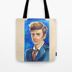 David Tennant 10th Doctor Who Tote Bag