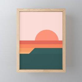 Sunseeker 08 Portrait Framed Mini Art Print