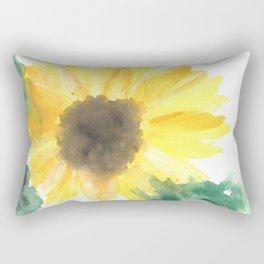 Big sunflower Rectangular Pillow