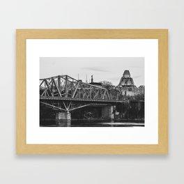 Ottawa Landmarks Framed Art Print
