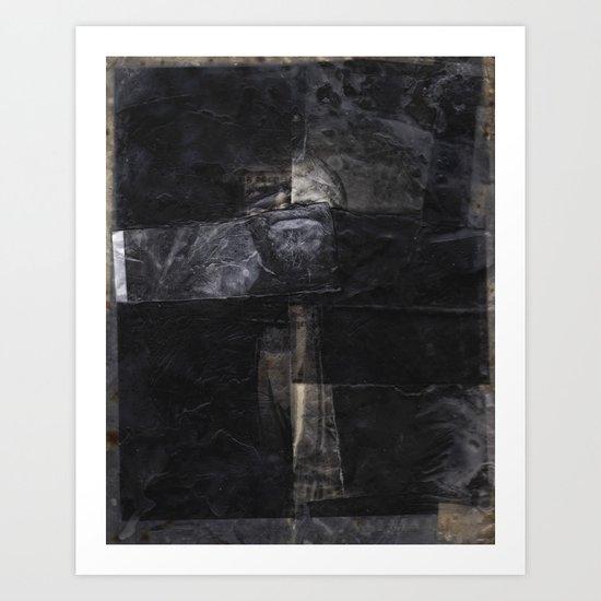 Baronial Indigene No. 3: Ephemera Art Print