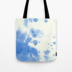 Blue watercolor Tote Bag