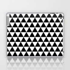 Triangles (Black/White) Laptop & iPad Skin
