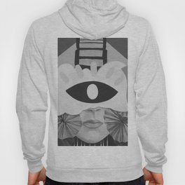 What is Art? (Black and White) Hoody