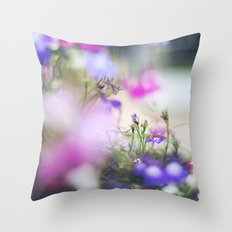Violet Throw Pillow