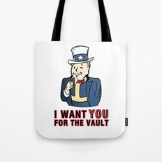 I Want You for the Vault Tote Bag