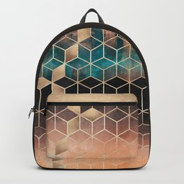 Ombre Dream Cubes Backpack