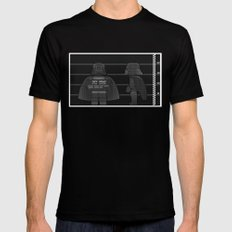 Jeff | You'll Need a Tray LARGE Mens Fitted Tee Black