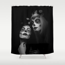 Sisters of Shadow Shower Curtain