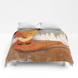 Fox in the Woods Comforters