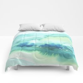 Abstract Landscape Comforters