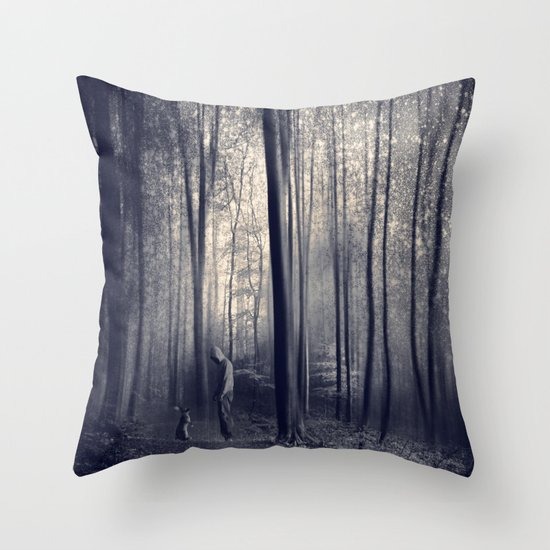 dArkWood enCounteR III Throw Pillow
