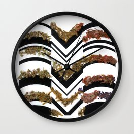 Strips Wall Clock