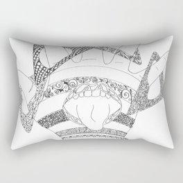 Crazy Hand Rectangular Pillow