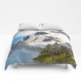 Glacial Peaks Comforters