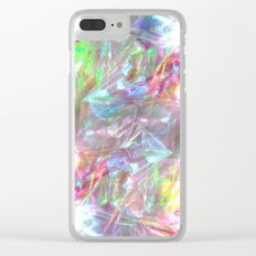 SHINY IREDESCENCE DESIGN Clear iPhone Case