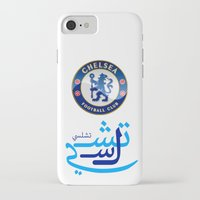 chelsea iPhone & iPod Cases featuring Chelsea by Sport_Designs