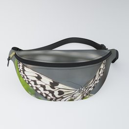 Butterfly on a Leaf Fanny Pack