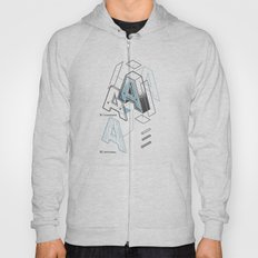 The Exploded Alphabet / A Hoody