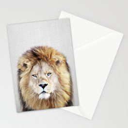 Lion 2 - Colorful Stationery Cards