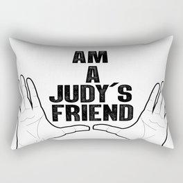Am a judy´s friend black and white Rectangular Pillow