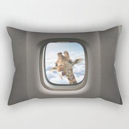 Funny Giraffe - Window Seat  Rectangular Pillow