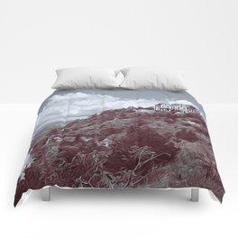 Ha Ha Tonka in Selenium and Gray Comforters