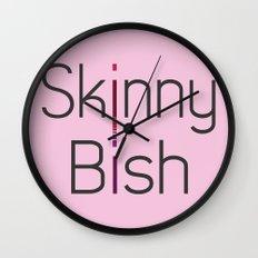 Skinny Bish Wall Clock