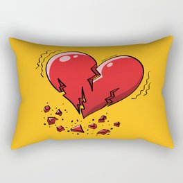 Extreme Heartquake Rectangular Pillow