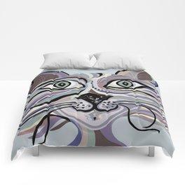 Denim Cat Comforters