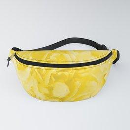 Yellow Peony Petals in Close-up #decor #society6 #buyart Fanny Pack