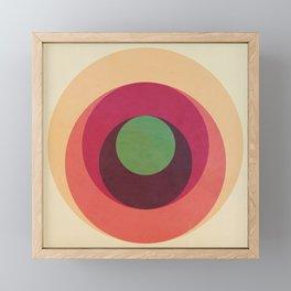 Abstract Circle Games Framed Mini Art Print
