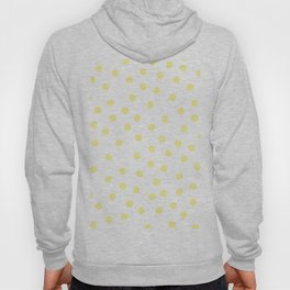 Simply Dots in Pastel Yellow Hoody