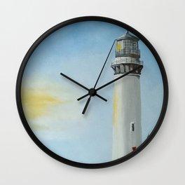 Sunny Lighthouse Wall Clock